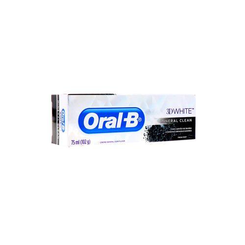 Crema Dental Oral-B 3D White Mineral Clean 75 Ml