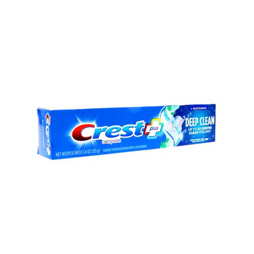 Pasta Dental Crest Complete Plus Deep Clean 5.4 Oz