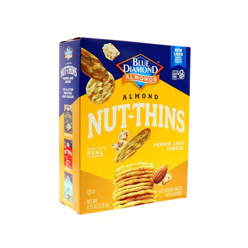 Galletas Blue Diamond Nut-Thins Almond Queso Pimienta 4.25Oz