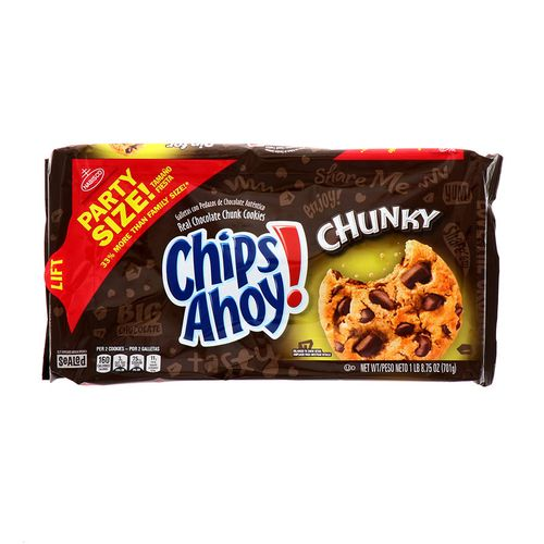 Galleta Chips Ahoy Chunky Party Size 8.75 Oz