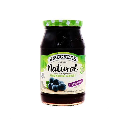 Mermelada Smuckers Natural De Uva 17.25 Oz