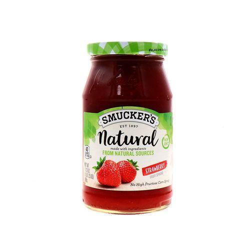 Mermelada Smuckers Natural De Fresa 17.25 Oz
