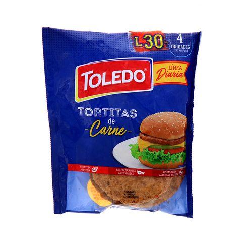 Tortitas De Carne Toledo 4Un/215Gr