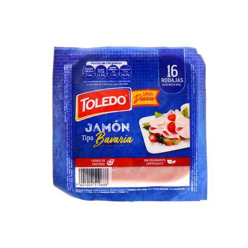 Jamon Toledo Tipo Bavaria 400 Gr