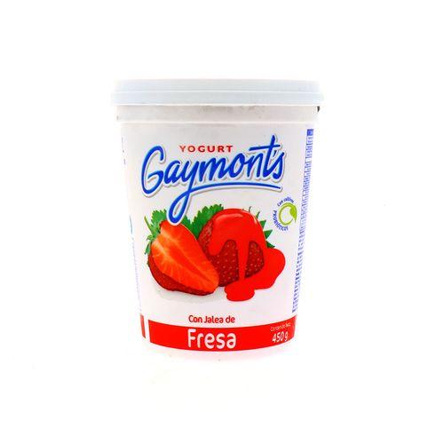 Yogurt Gaymonts Con Jalea Fresa 450 Gr