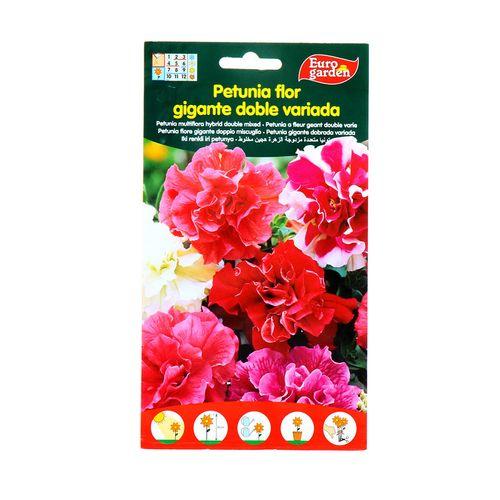Semillas Petunia Flor Eurogarden Gigante Doble 40M G