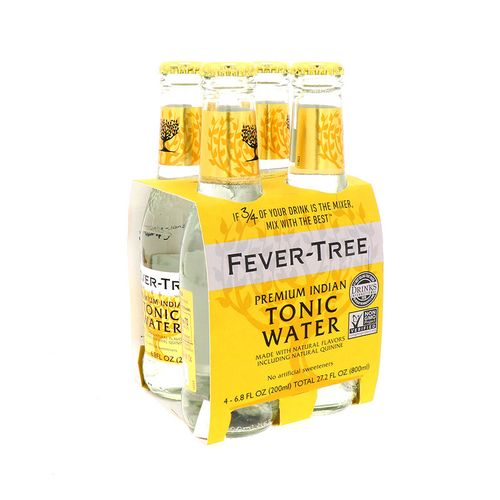 Agua Tónica Fever-Tree Premium Indian 4Un/800 Ml