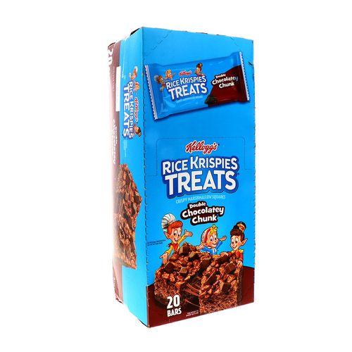 Barra De Cereal Rice Krispies Treats Doble Chocolate Chunk 3Oz
