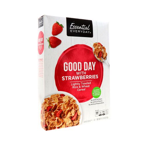 Cereal Essential Everyday Rice Flakes Berry 11.2 Oz