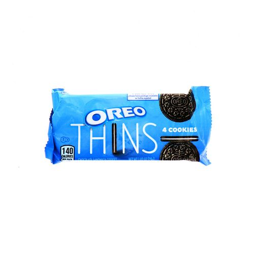 Galleta Oreo Thins Chocolate 1.02 Oz