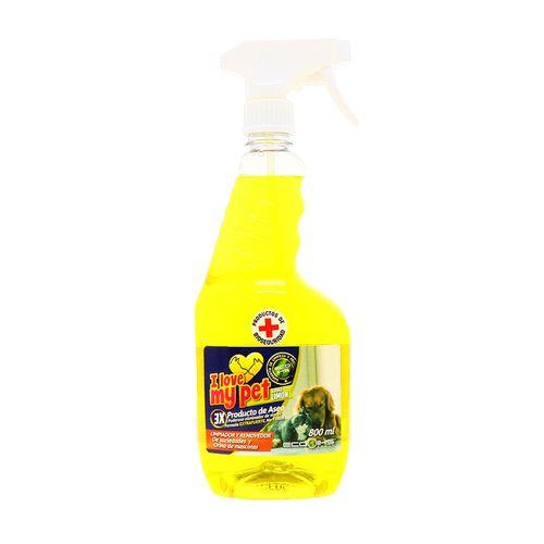 Limpiador Xtreme Clean Removedor Aroma Limón 800 Ml