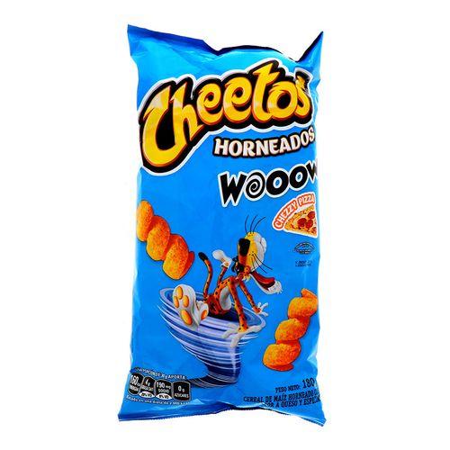 Churro Cheetos Horneados Wow Queso Y Especias 180 Gr