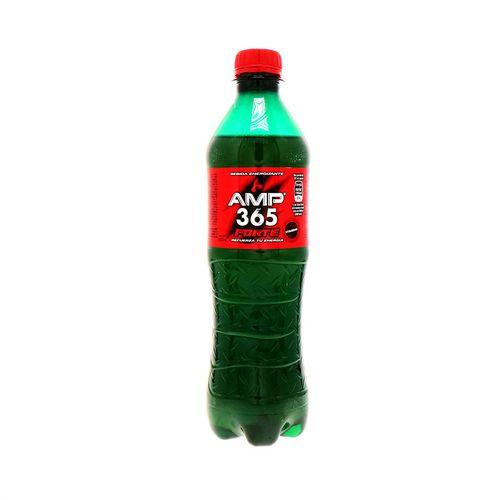 Bebida Energizante Amp 365 Forte Botella 600 Ml
