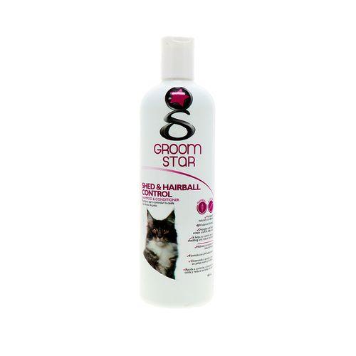 Shampoo Para Gato Groom Star Control Caída De Pelo 480 Ml