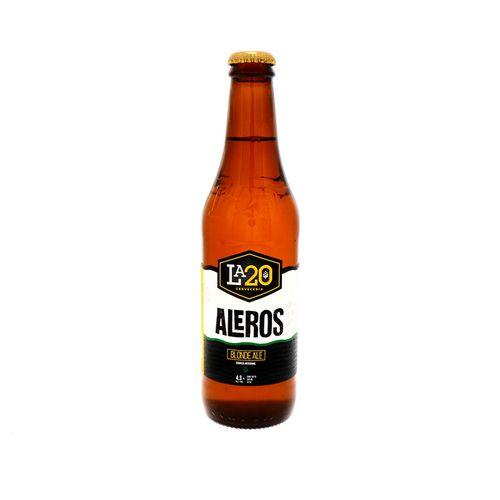 Cerveza La20 Aleros Botella 355 Ml