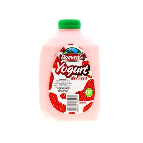 Yogurt Boquerón De Fresa 1 Lt