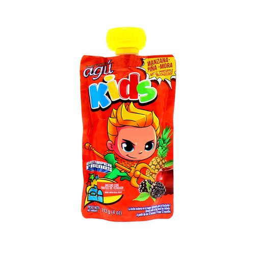 Colado Agu Kids Manzana Pina Mora 113 Gr