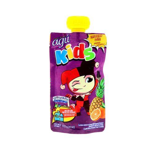 Colado Agu Kids Naranja Y Pina 113Gr