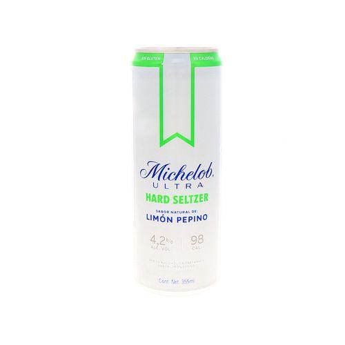 Bebida Alcohólica Michelob Ultra Har/Seltz Limón Pepino355Ml