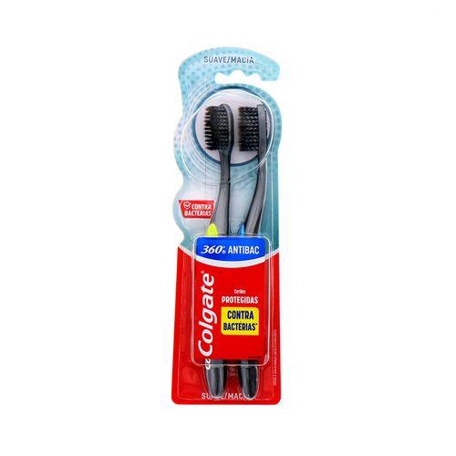 Cepillo Dental Colgate 360 Antibacterial 2 Un