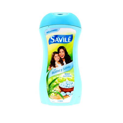 Shampoo Savile Con Biotina Y Sabila 550 Ml