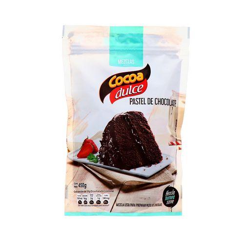 Mezcla De Cocoa Dulce Pastel De Chocolate 450 Gr