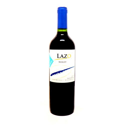 Vino Tinto Lazo Merlot 2019 750 Ml