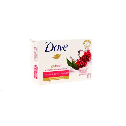 Jabón Tocador Dove Revigorizarte Go Fresh 90 Gr