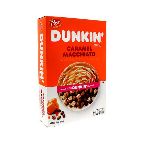 Cereal Post Dunkin Caramel Macchiato 11 Oz