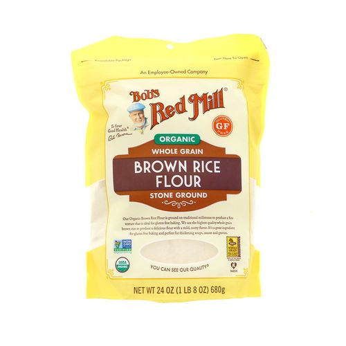 Harina De Arroz Bobs Red Mill Integral Gluten Free 24 Oz