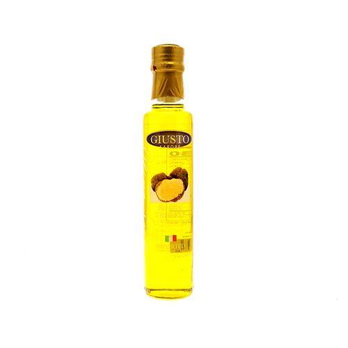 Aceite De Oliva Giusto Sapore Con Trufas Negras 8.5 Oz