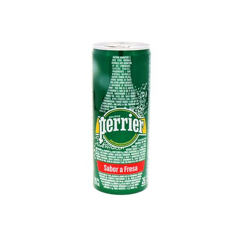 Agua Mineral Perrier Strawberry 250 Ml